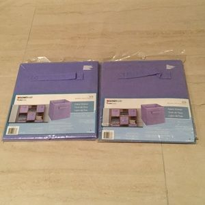 New Lot of 2 ClosetMaid Fabric Drawers